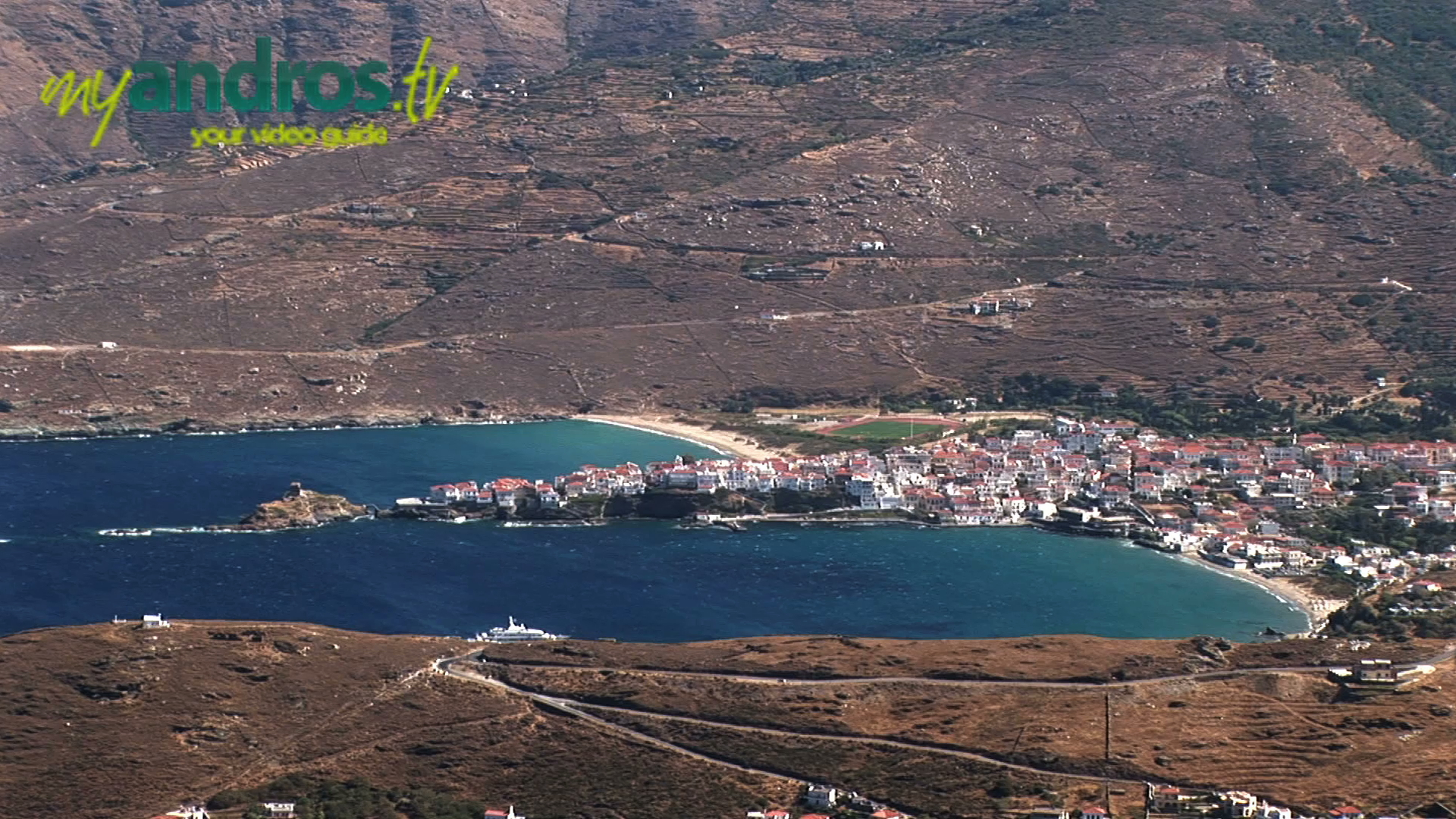 The top 4 places to visit in Andros island