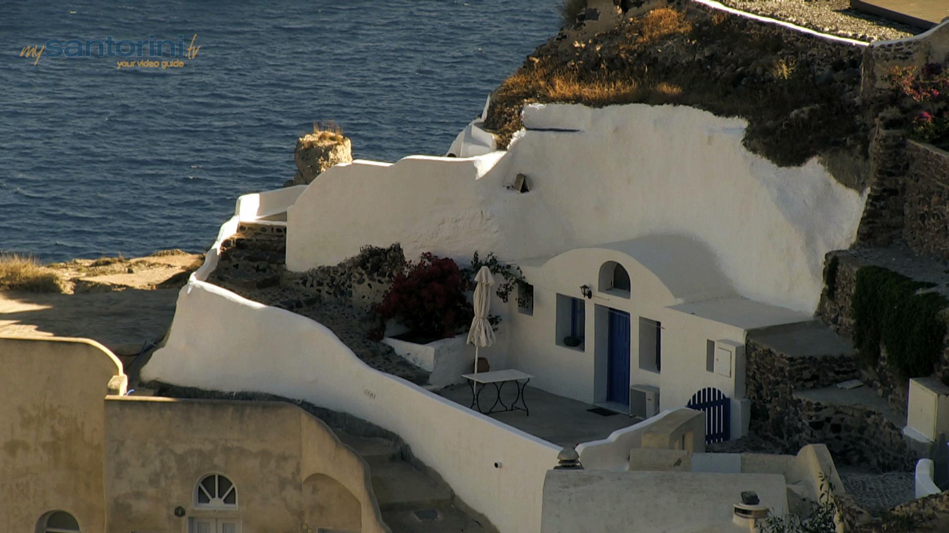 The Architecture of Santorini
