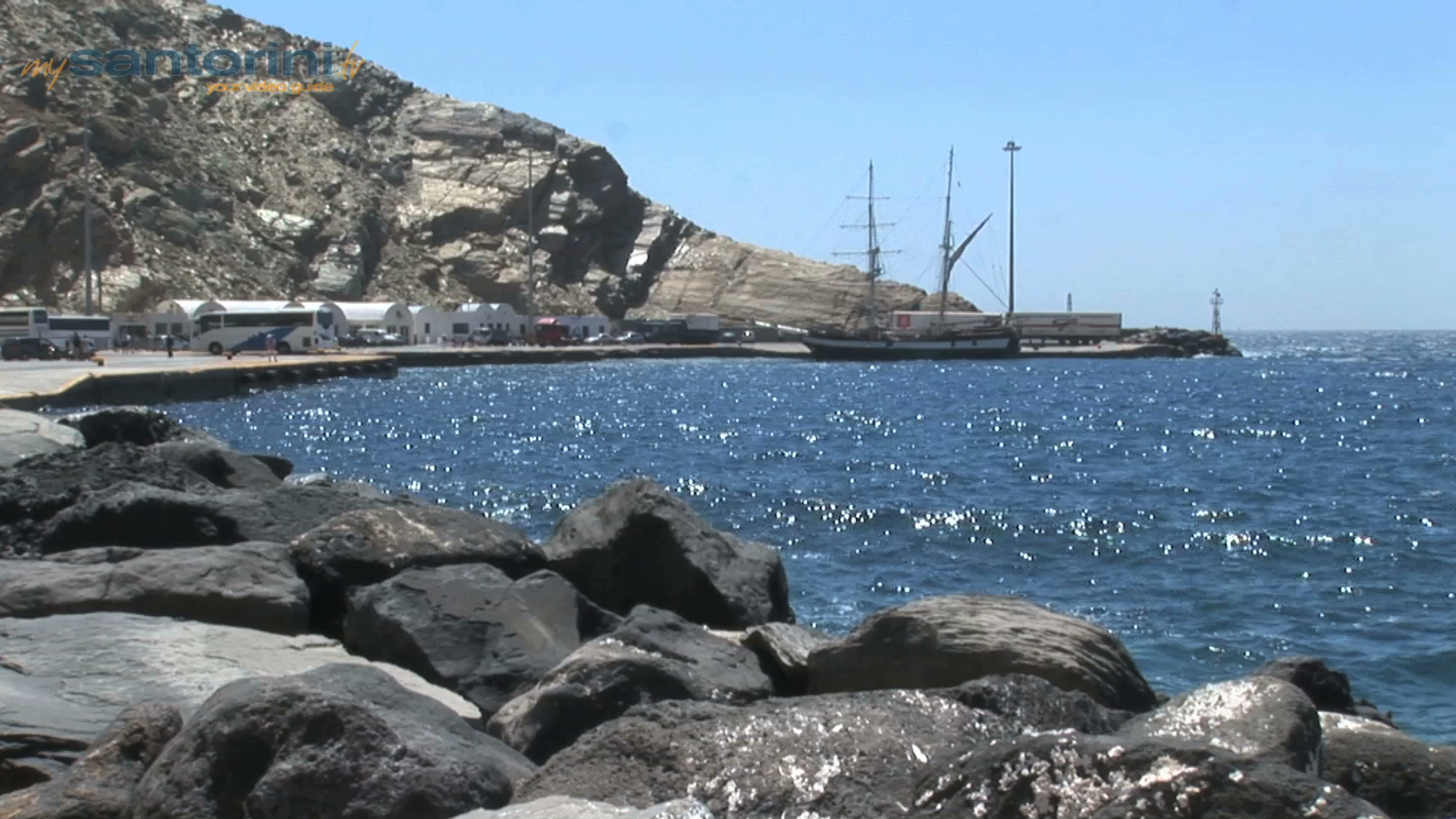 The Main Port of Athinios