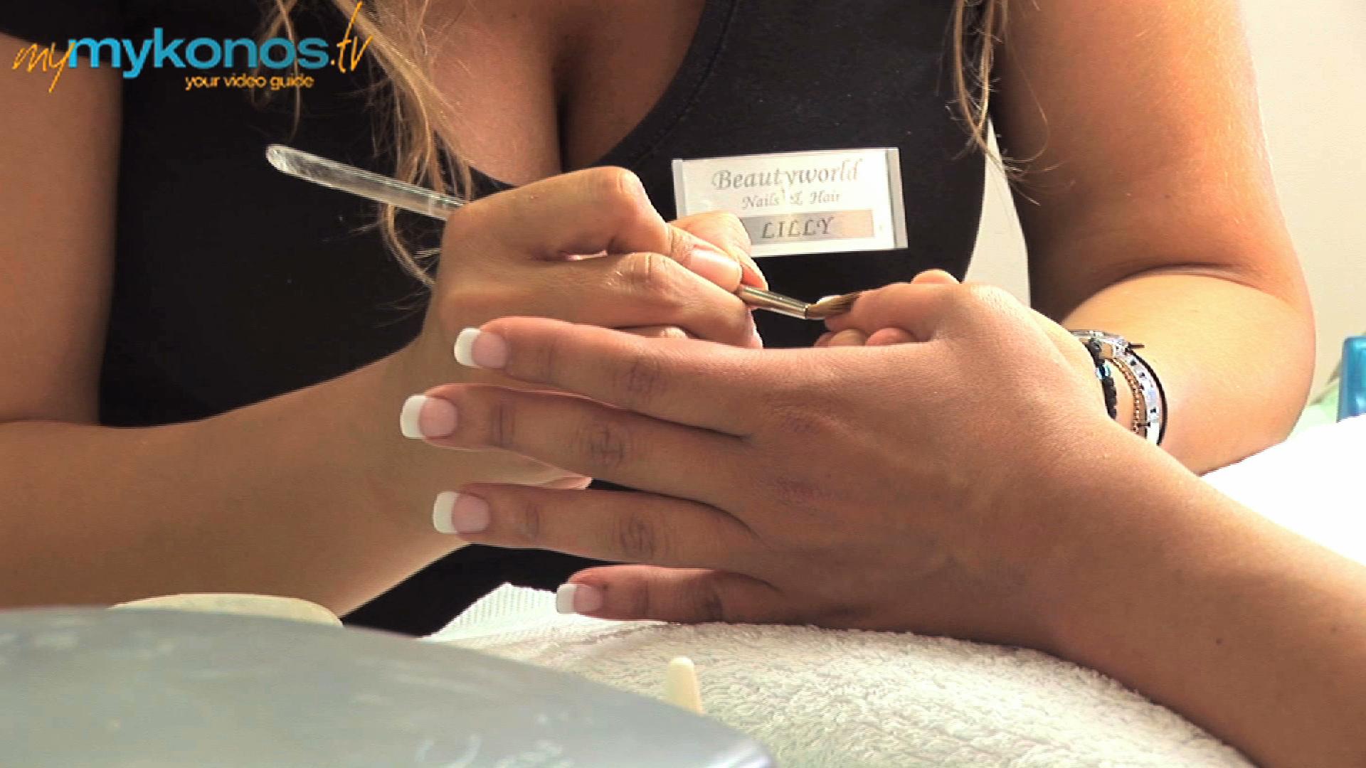 Hair & Nails in Mykonos