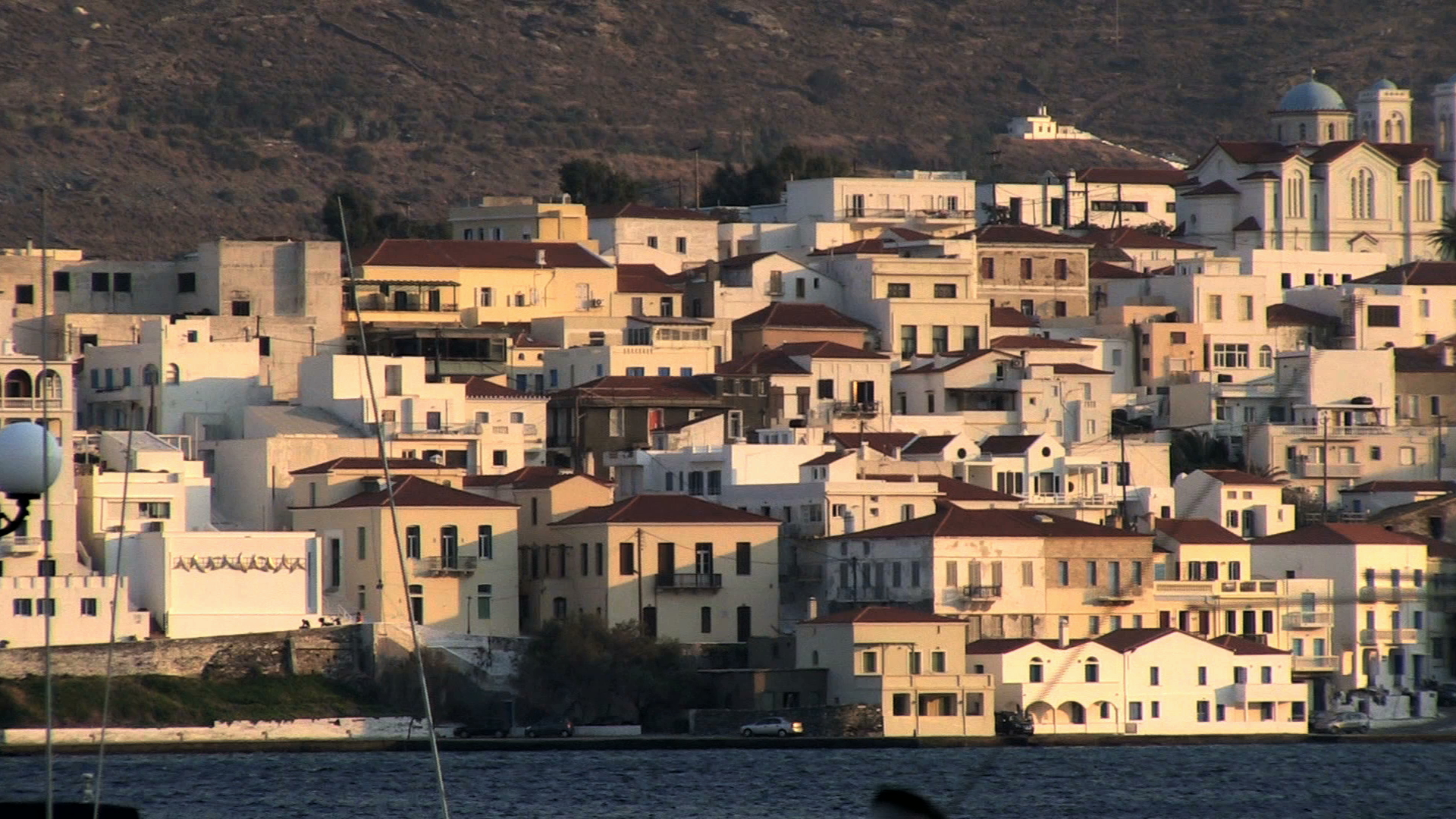 About Andros town (Chora of Andros)