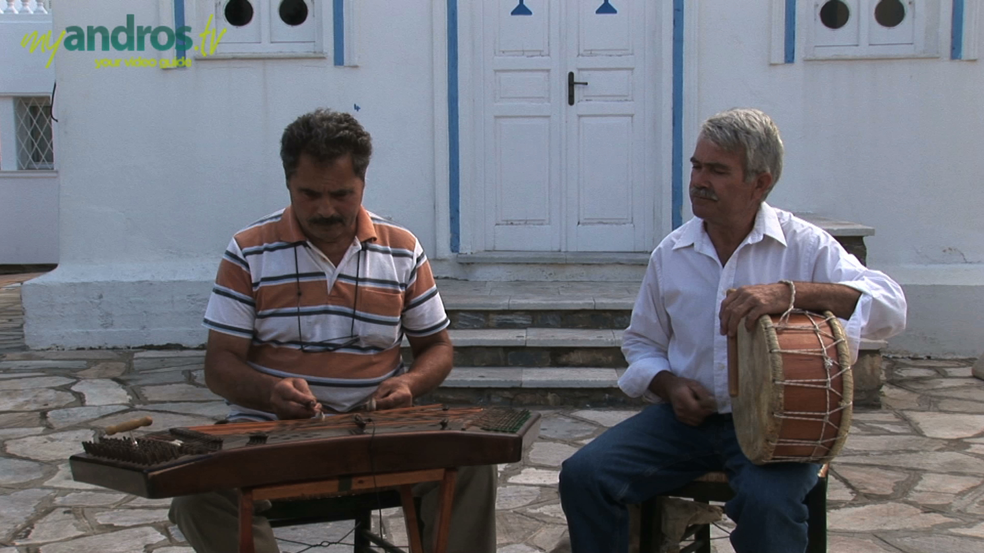 Enjoy the Traditional Music of Andros