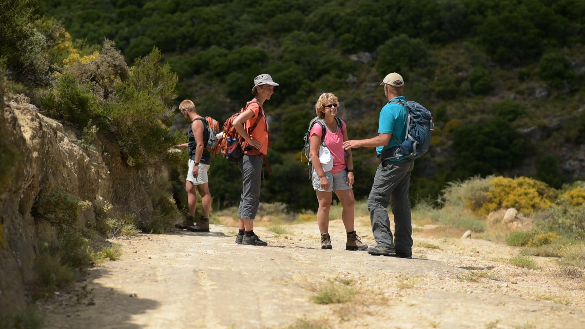 Hiking with a local guide in Kythera