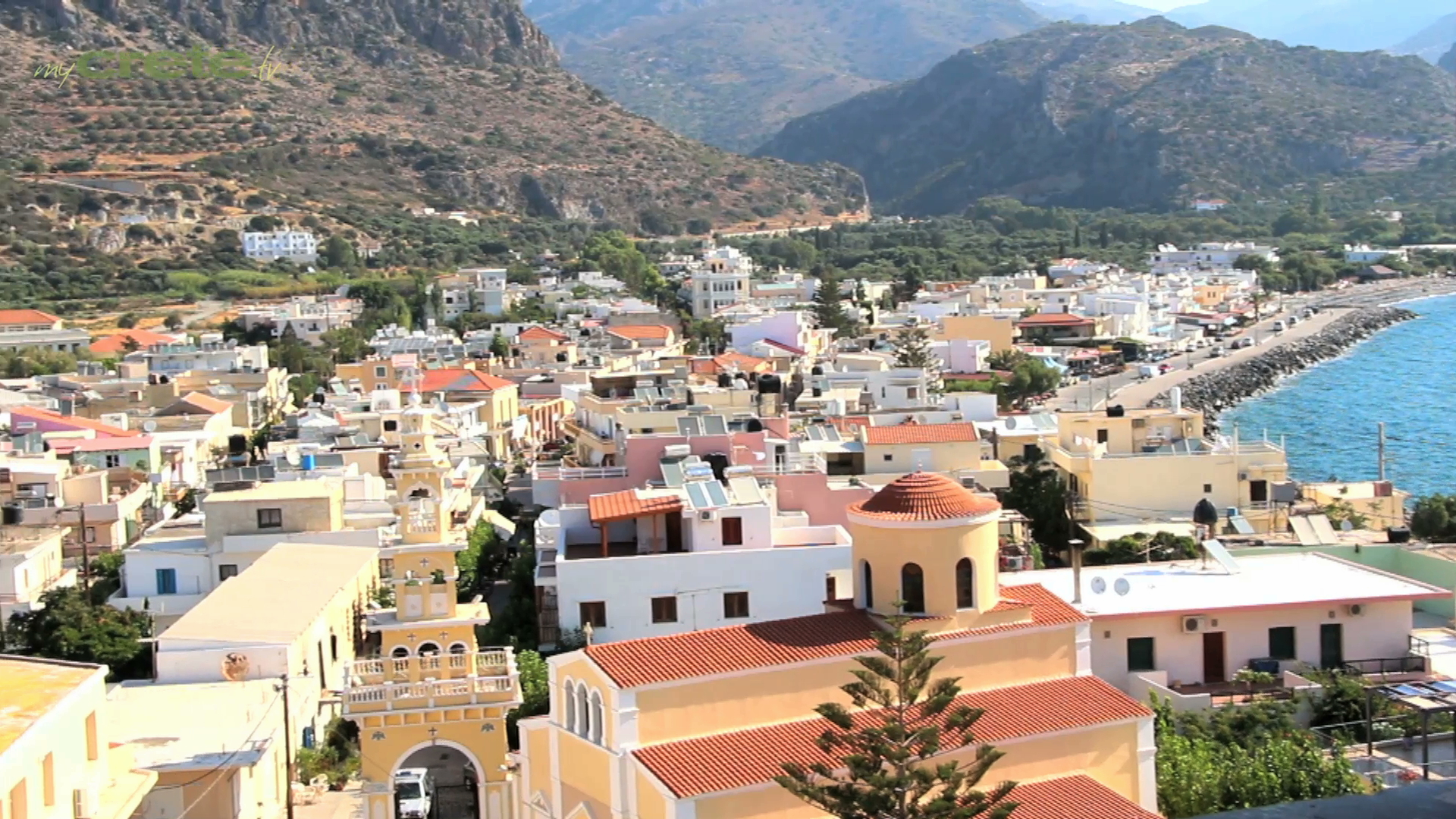 Towns and Villages of Crete