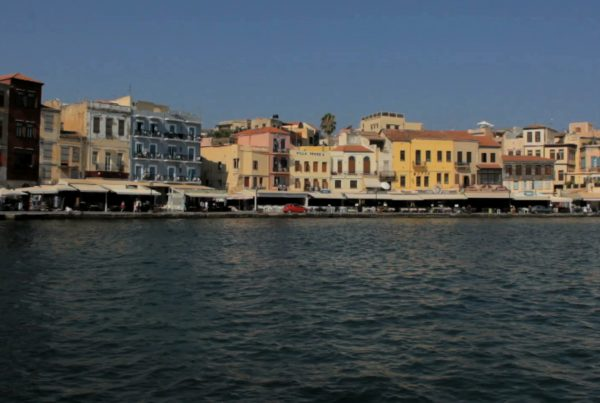 old town alleys in chania
