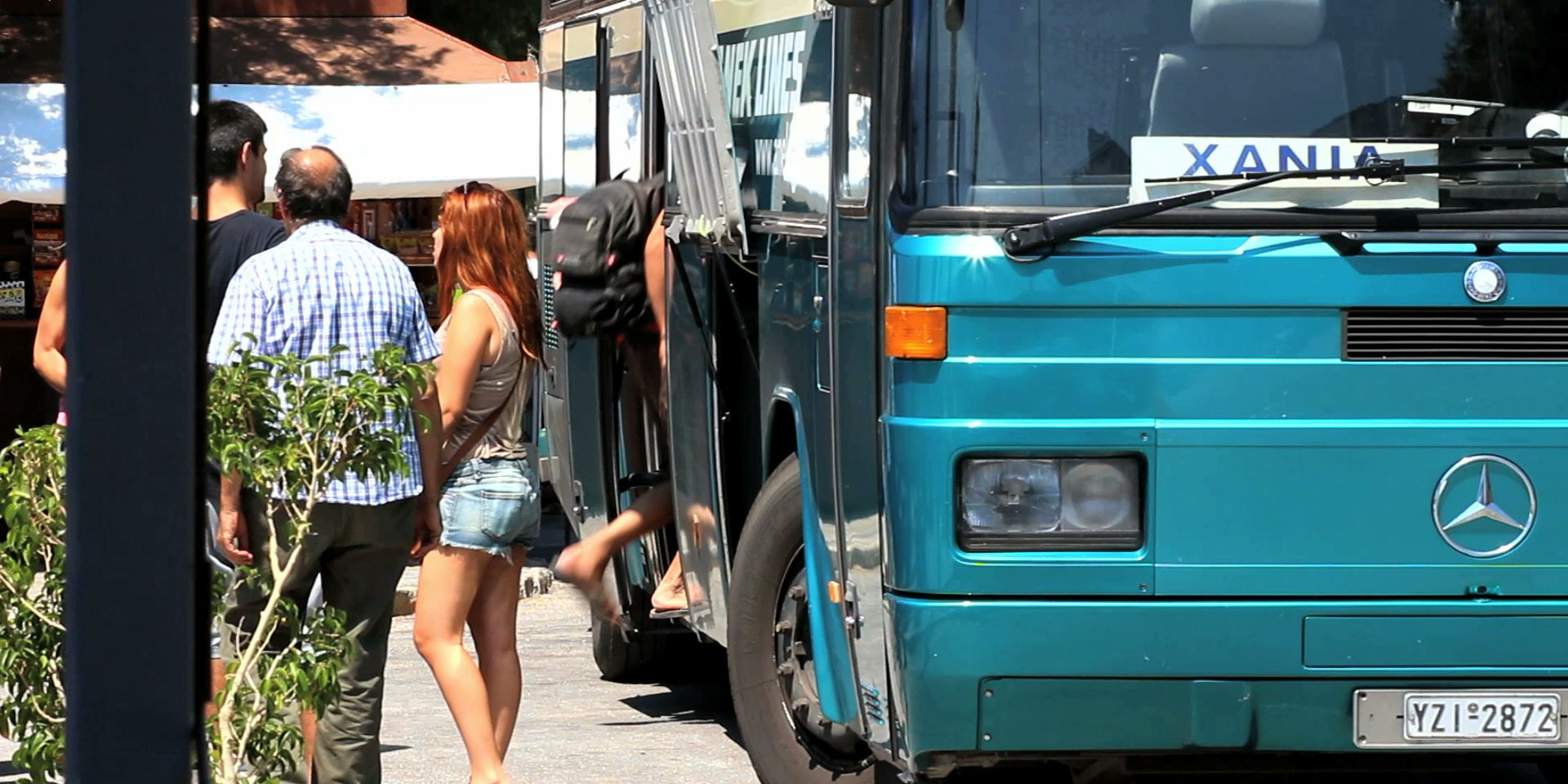 Getting the KTEL Buses from Chania