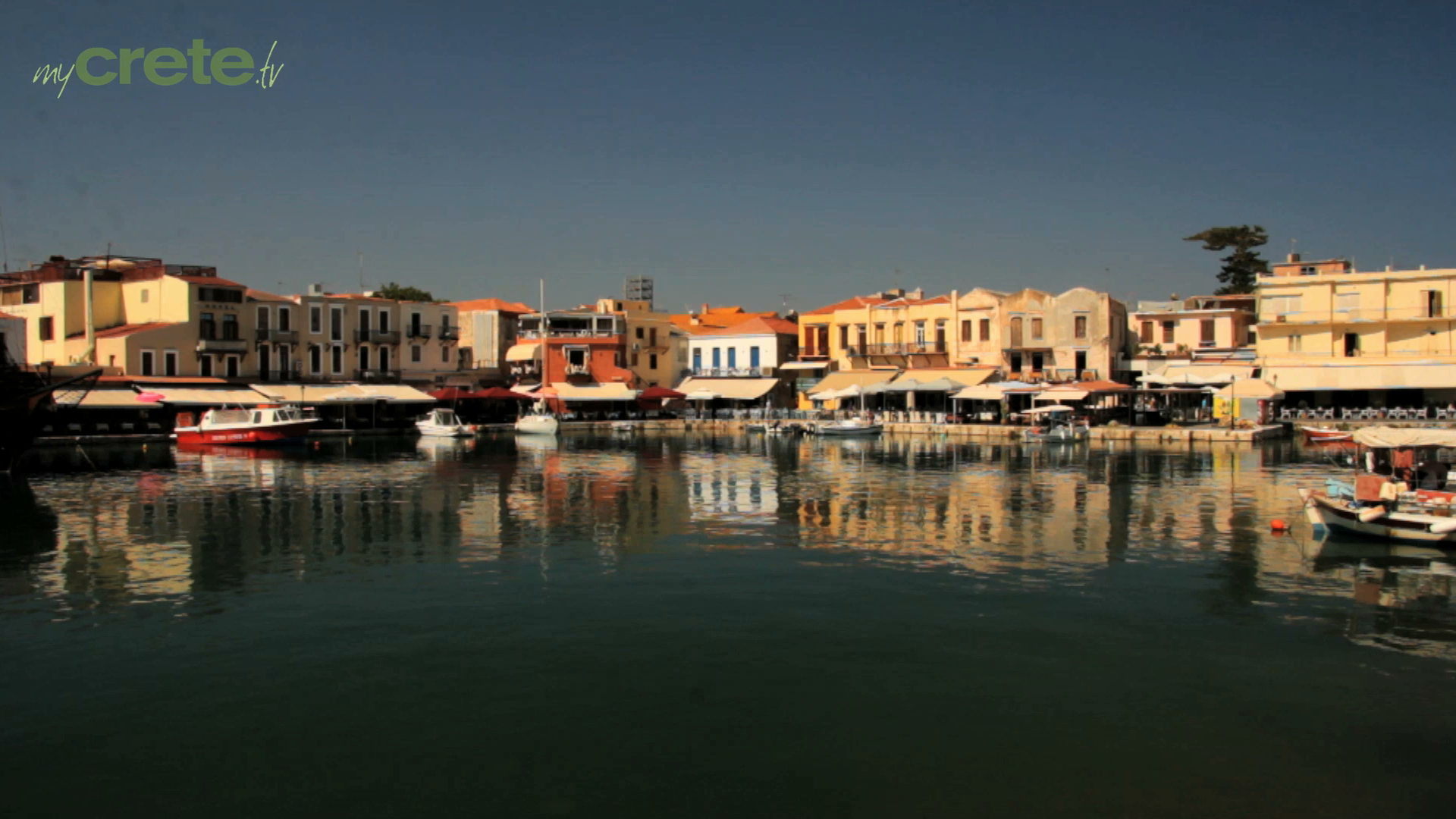 The Old Port of Rethymno