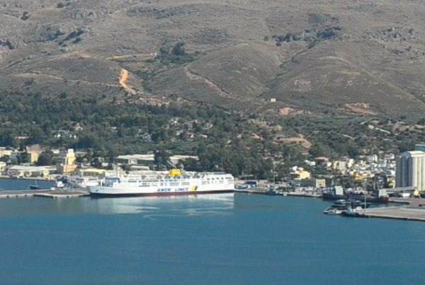 souda port chania region