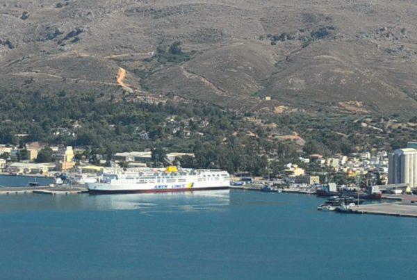 souda port chania region