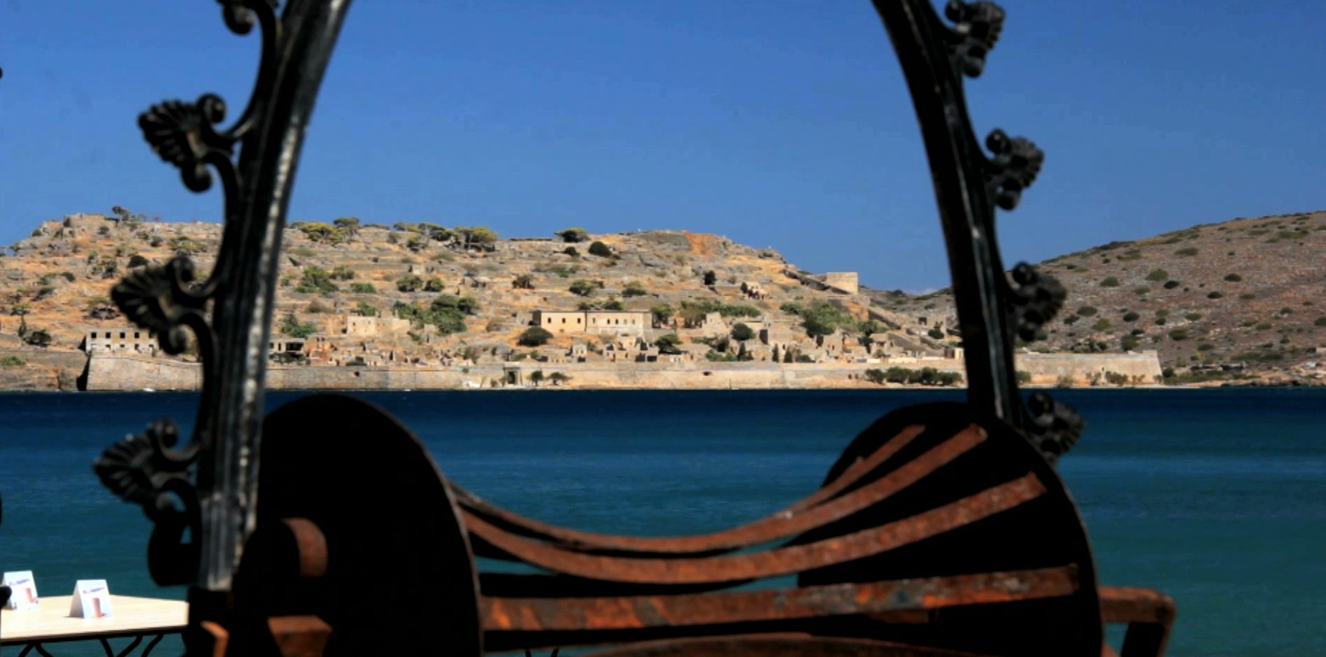 The Spinalonga Island