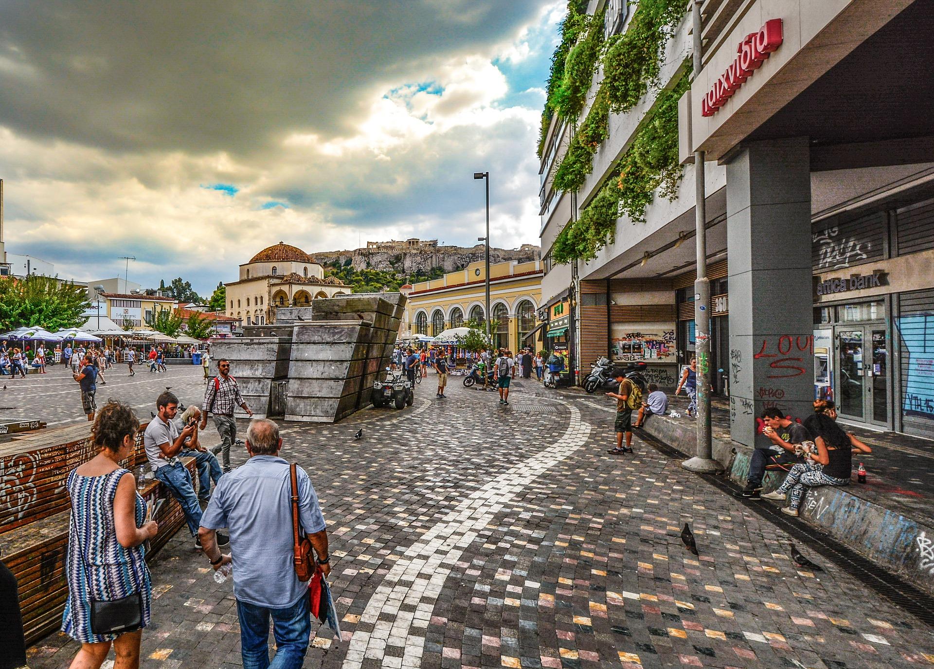 Walking in Monastiraki