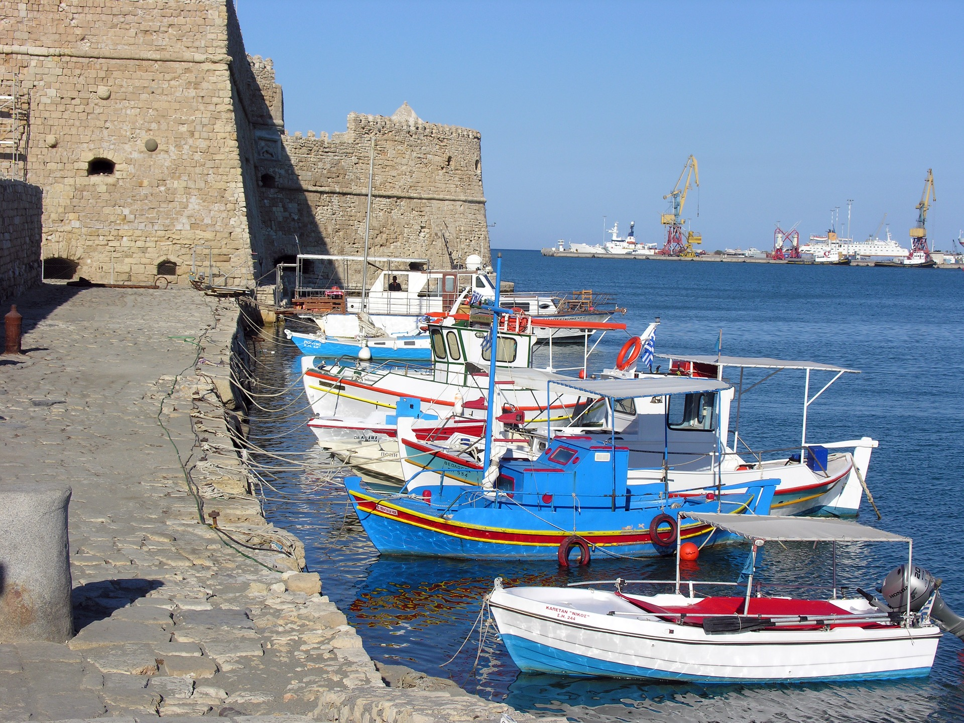 Sightseeing in Heraklion of Crete