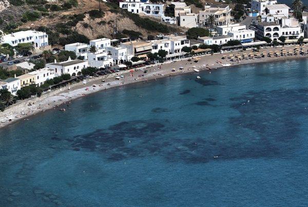 kythera kapsali beach panorama