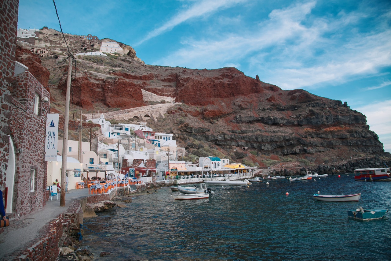 The Old Ports of Santorini