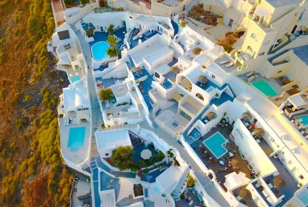 santorini top 10 luxury villas