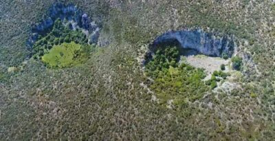 Argolida: Dolines, the giant and mysterious craters