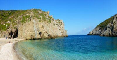 The natural beaches of Armyrichi at Evia