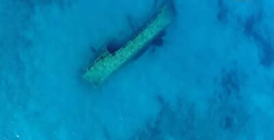 Peloponnese: The unknown Turkish shipwreck close to a Greek beach