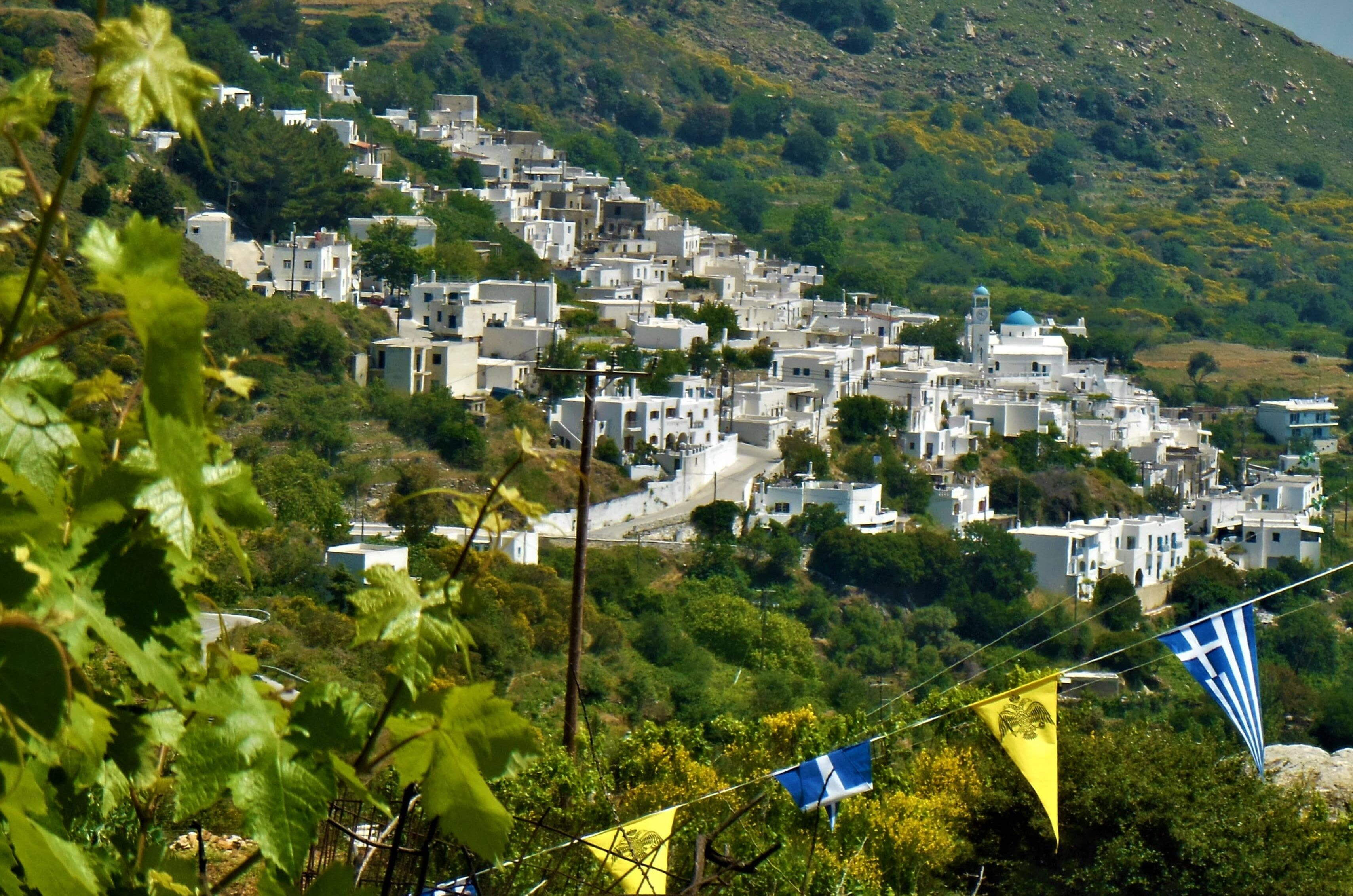 Naxos: a real mountain village in the Cyclades