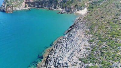 Evia: Surza Butt, The endless blue of the Aegean Sea