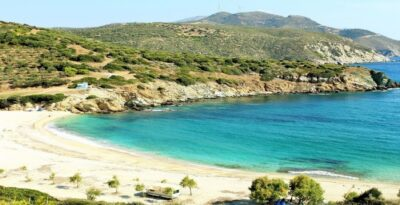 Heromylos: The exotic Aegean beach that you drive to from Athens