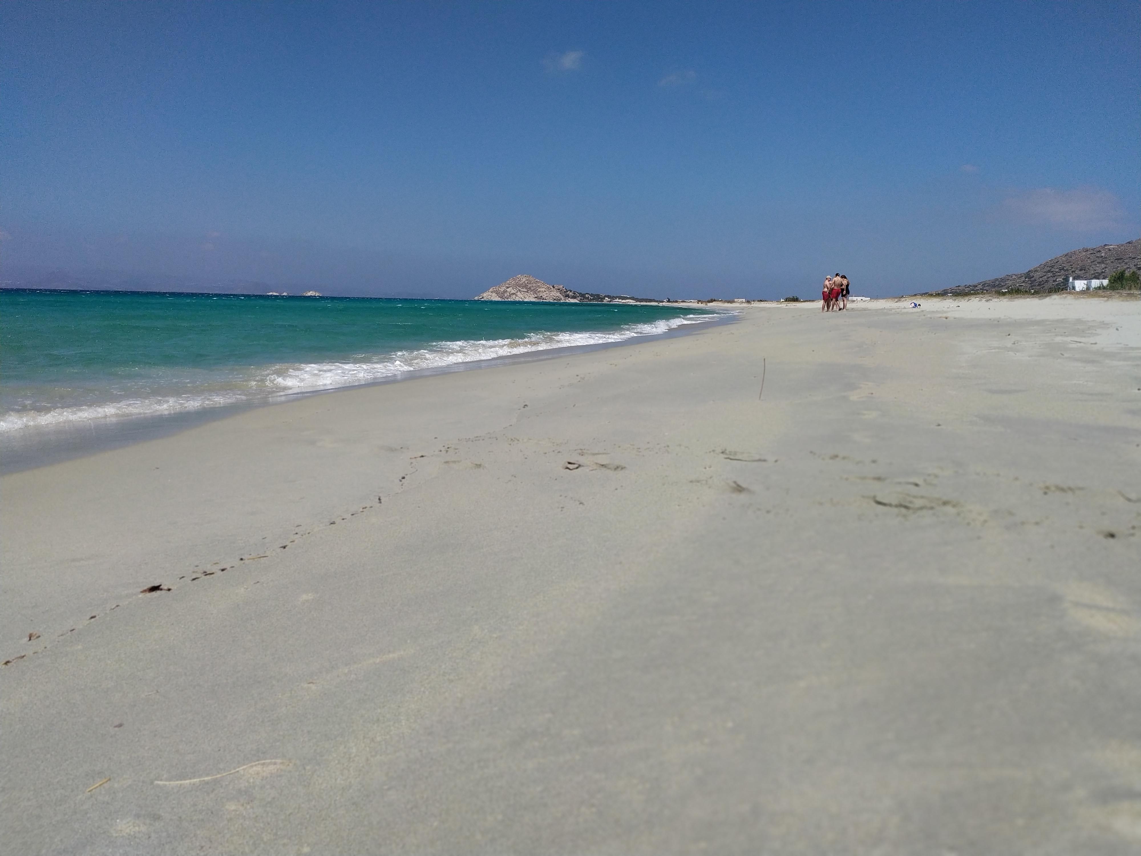 Kastraki – Naxos: Calmness and crystal clear beach