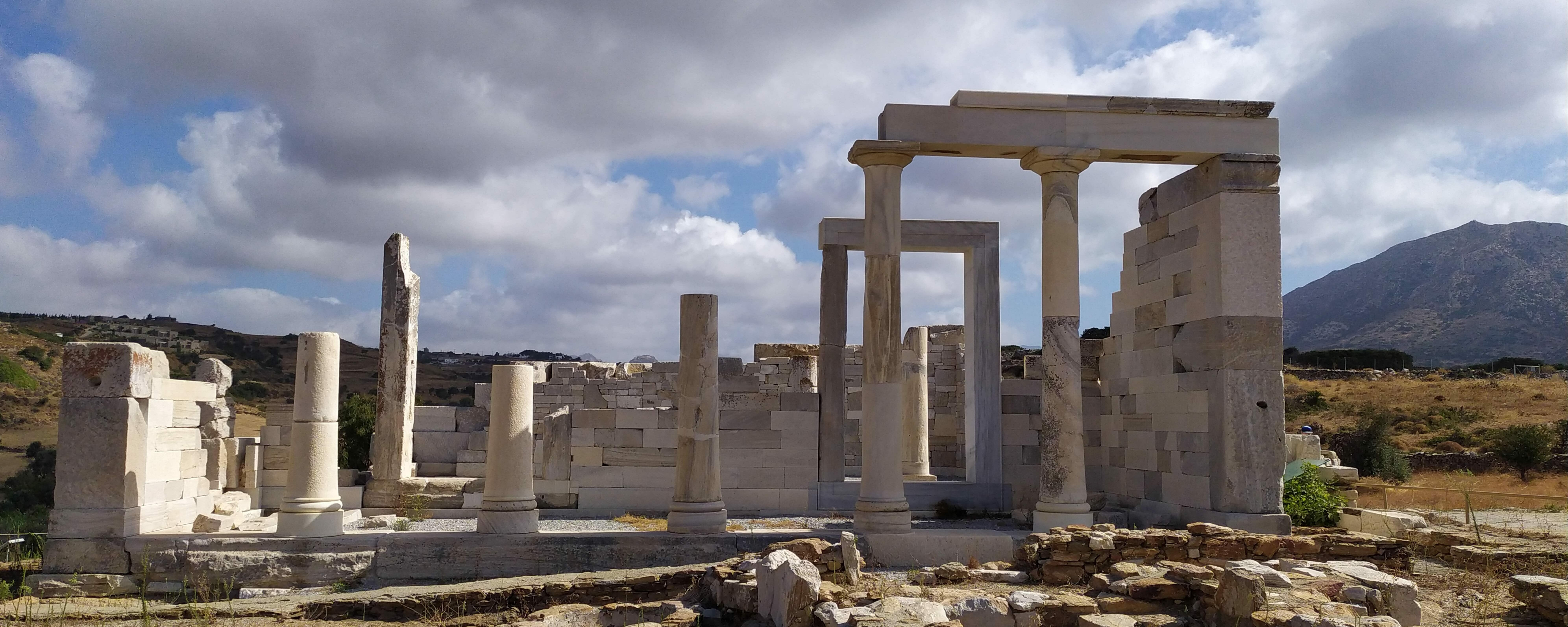 Cyclades :Naxos – The rare and impressive Archeological Temple of the Goddess Demeter