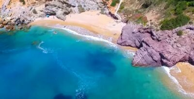 Attica: The beach with 99 steps that looks like the Cyclades