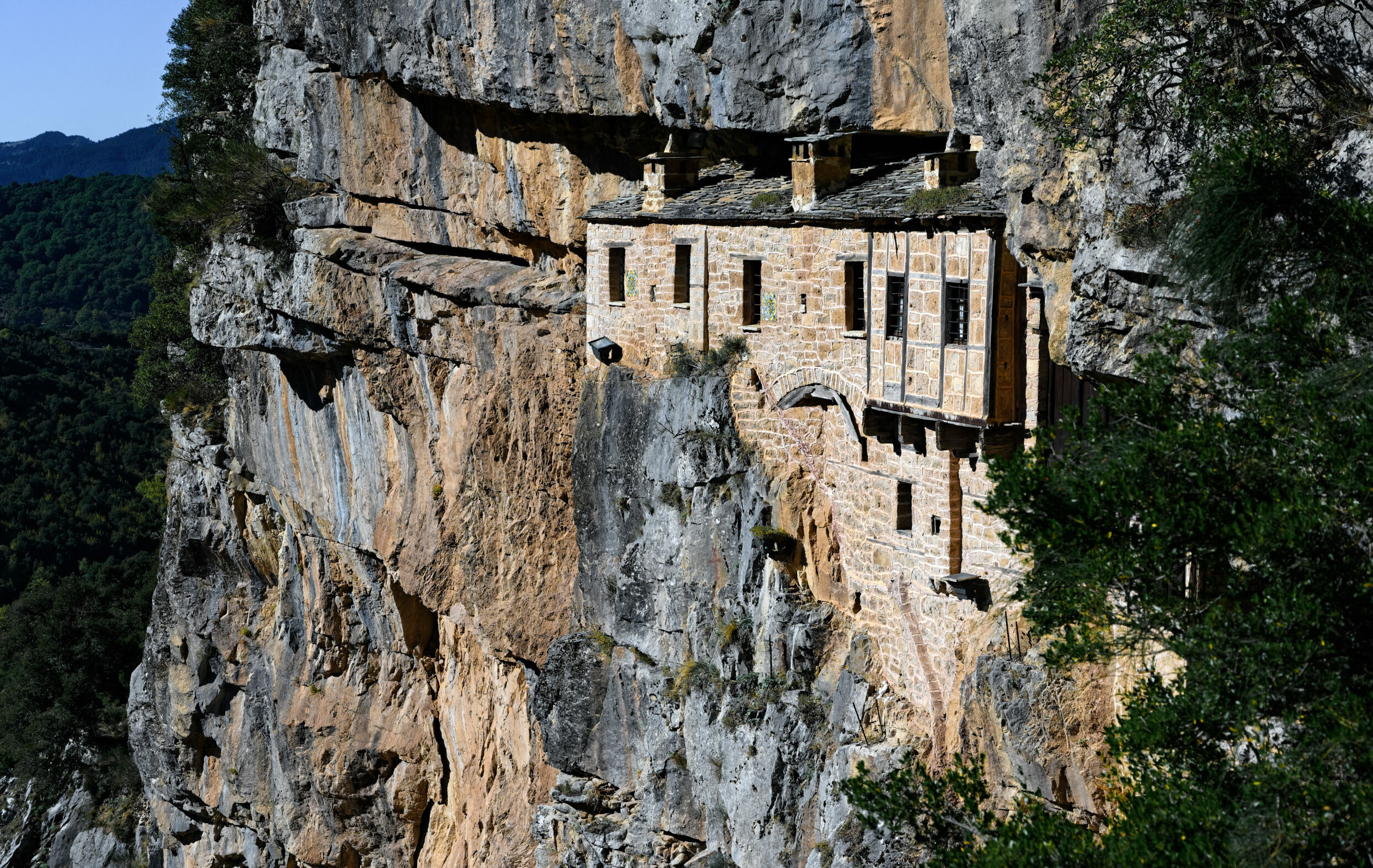 Kipina Monastery: The monastery that is wedged in the rock