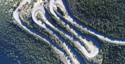 Kolosourtis: The famous old Road, for Hard drivers!