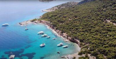 Moni: a dreamy islet off Aigina's coast