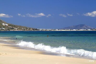 Naxos: Plaka beach with its endless dunes