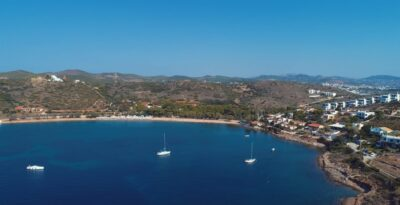 Punta Zeza beach and the ancient sunken city