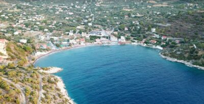 Schinos: The quiet beach which is an hour away from Athens