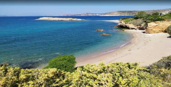 Heavenly:  Skalakia beach in Attica