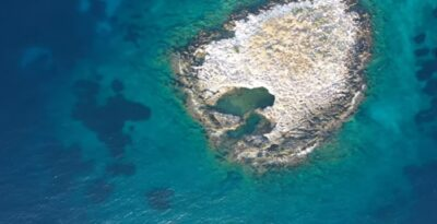 An enchanting island of Attica great for swimming