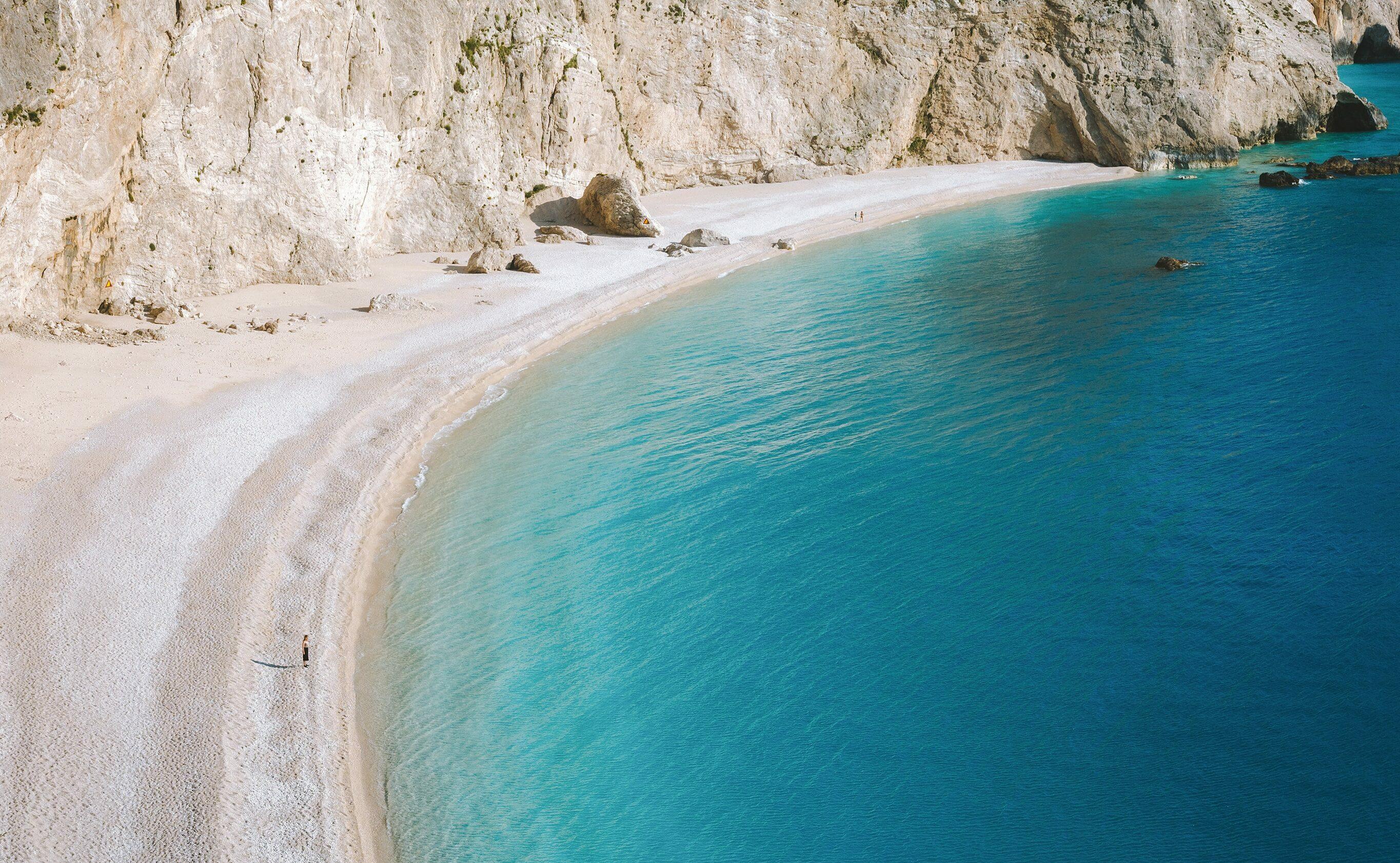 Porto Katsiki -Lefkada. A Magical Beach.