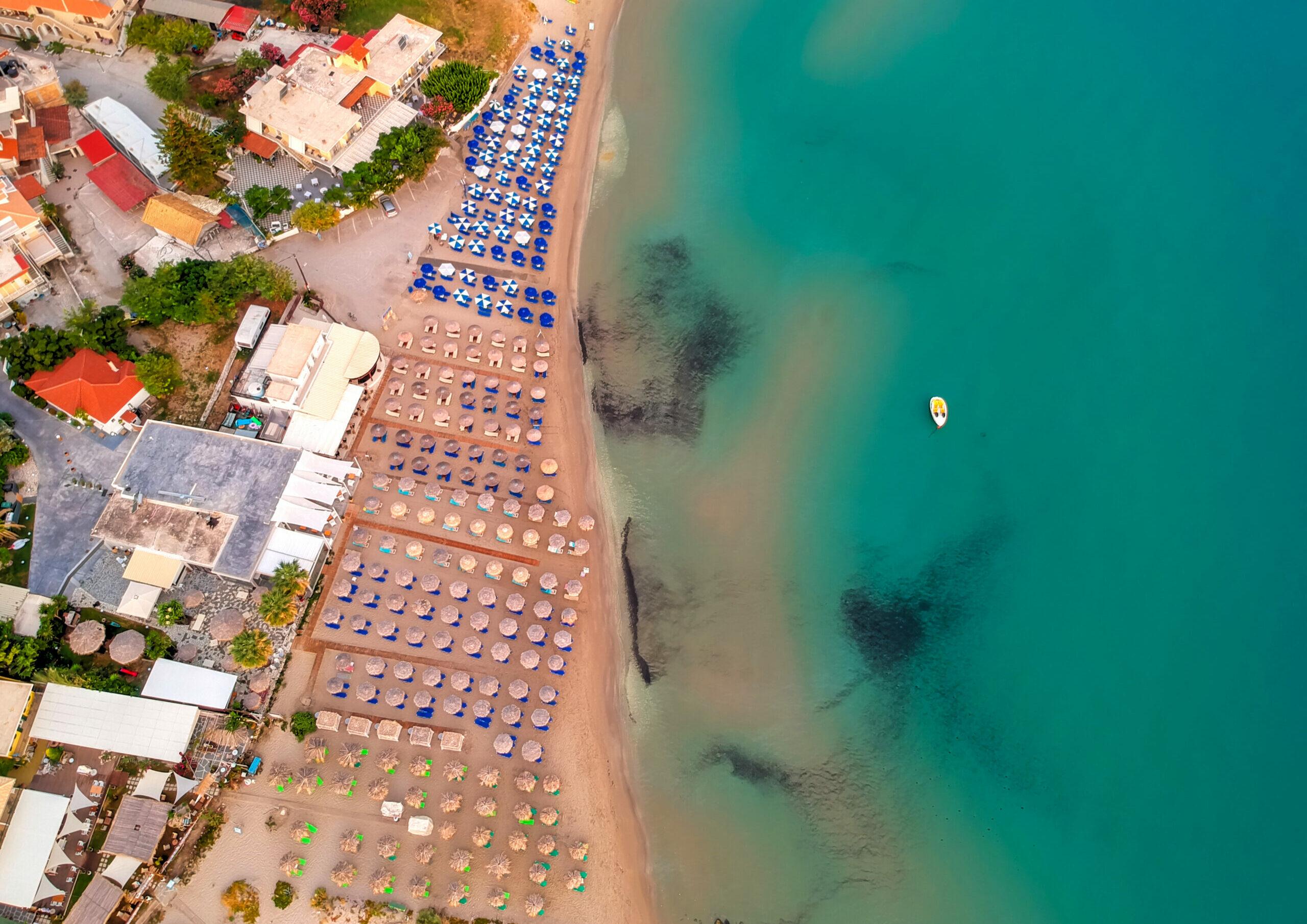 Exotic Drosia beach at Evia