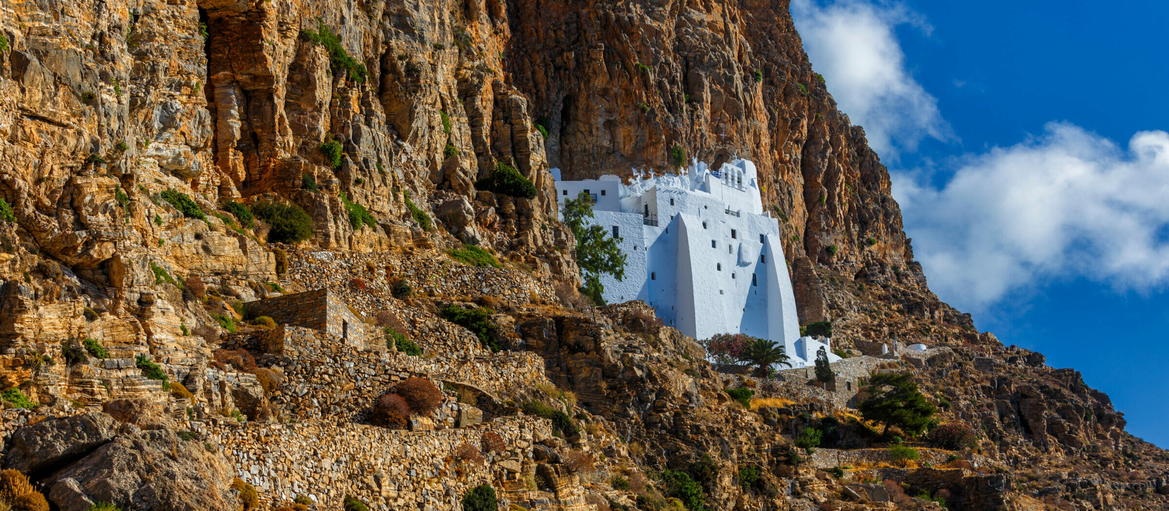 Amorgos: One of the Cyclades' amazing monasteries