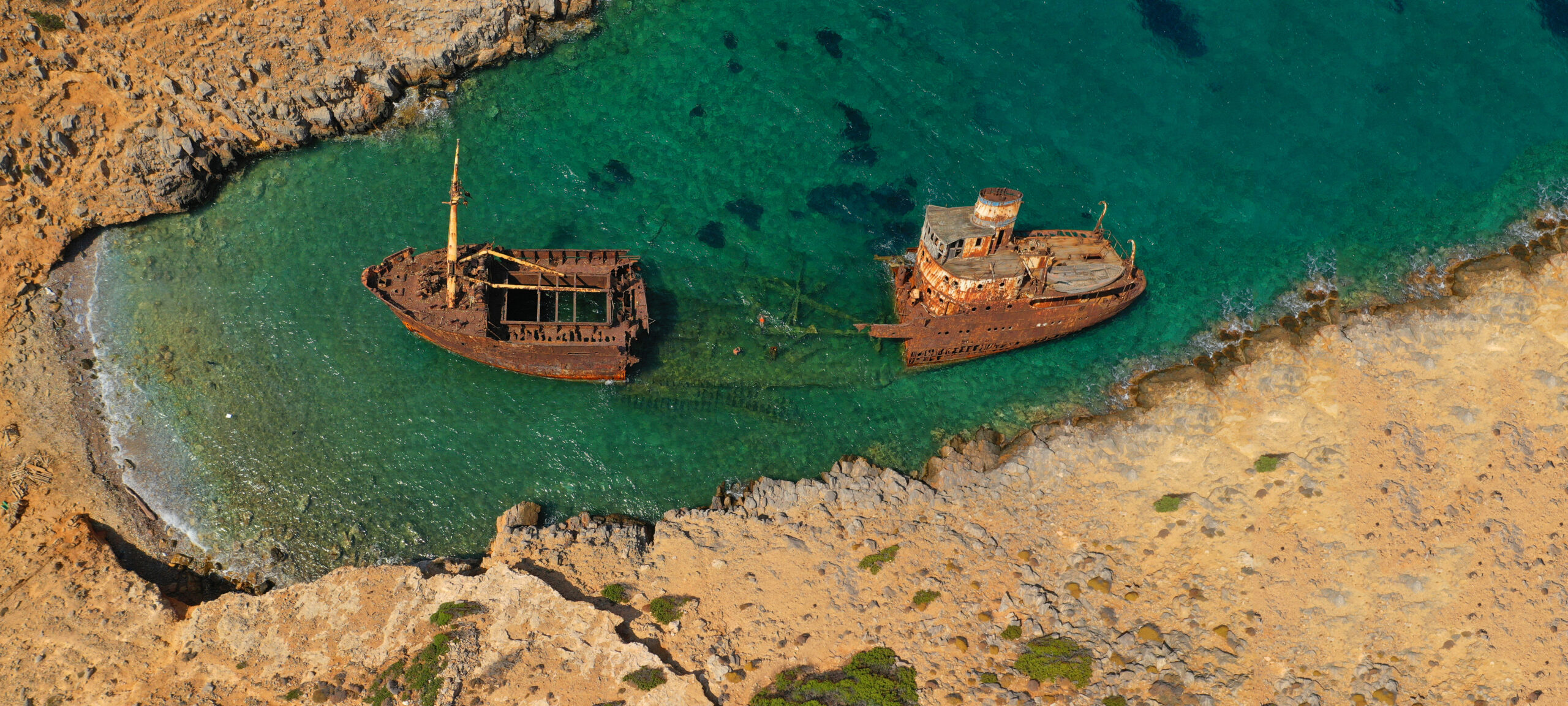 The Cycladic island with its own unknown shipwreck