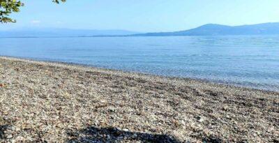 Ancona:  A clean pebbly beach in Attica