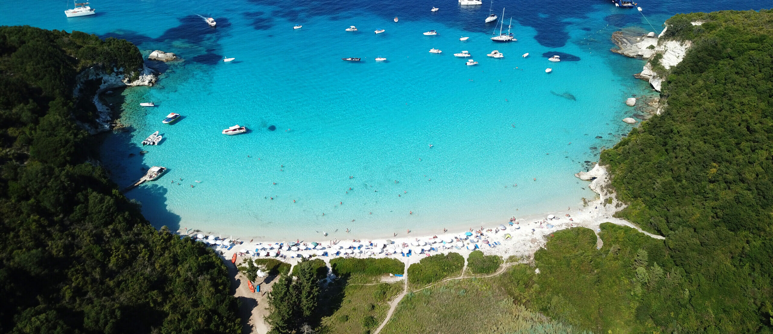 Five Greek beaches with Caribbean-like waters