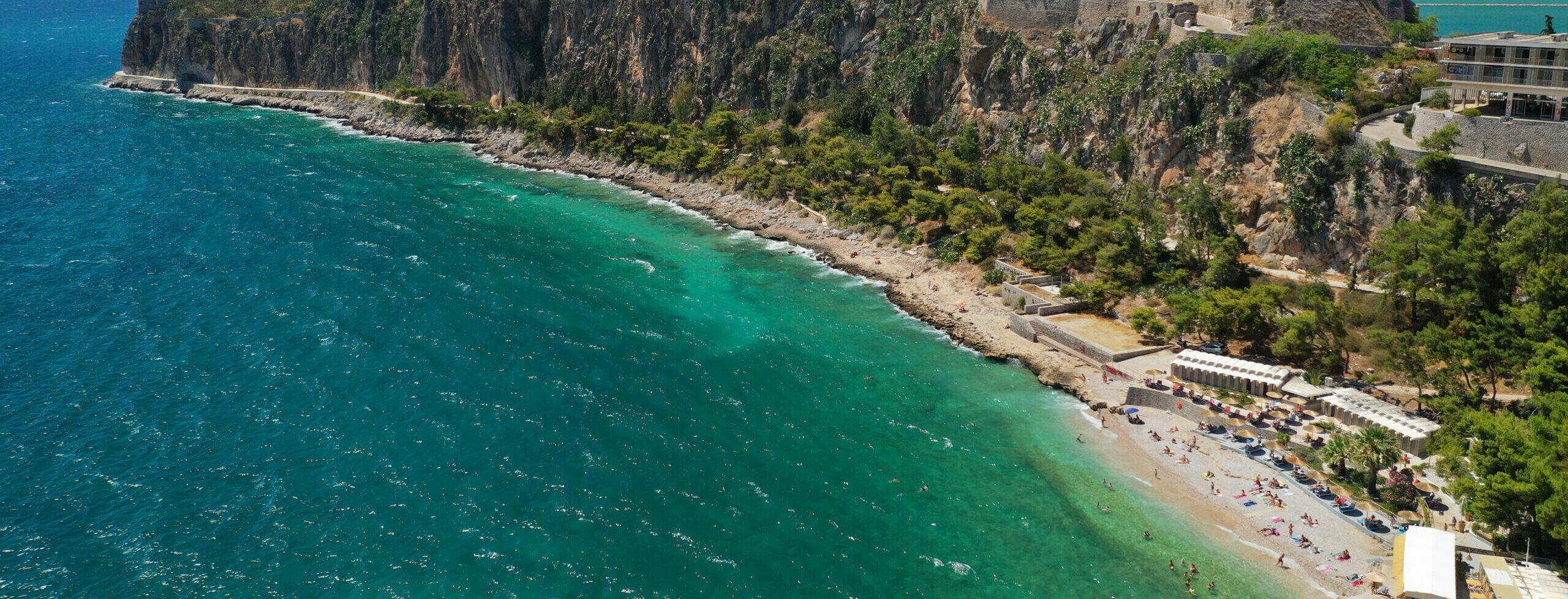 Arvanitia: The small but sensational beach