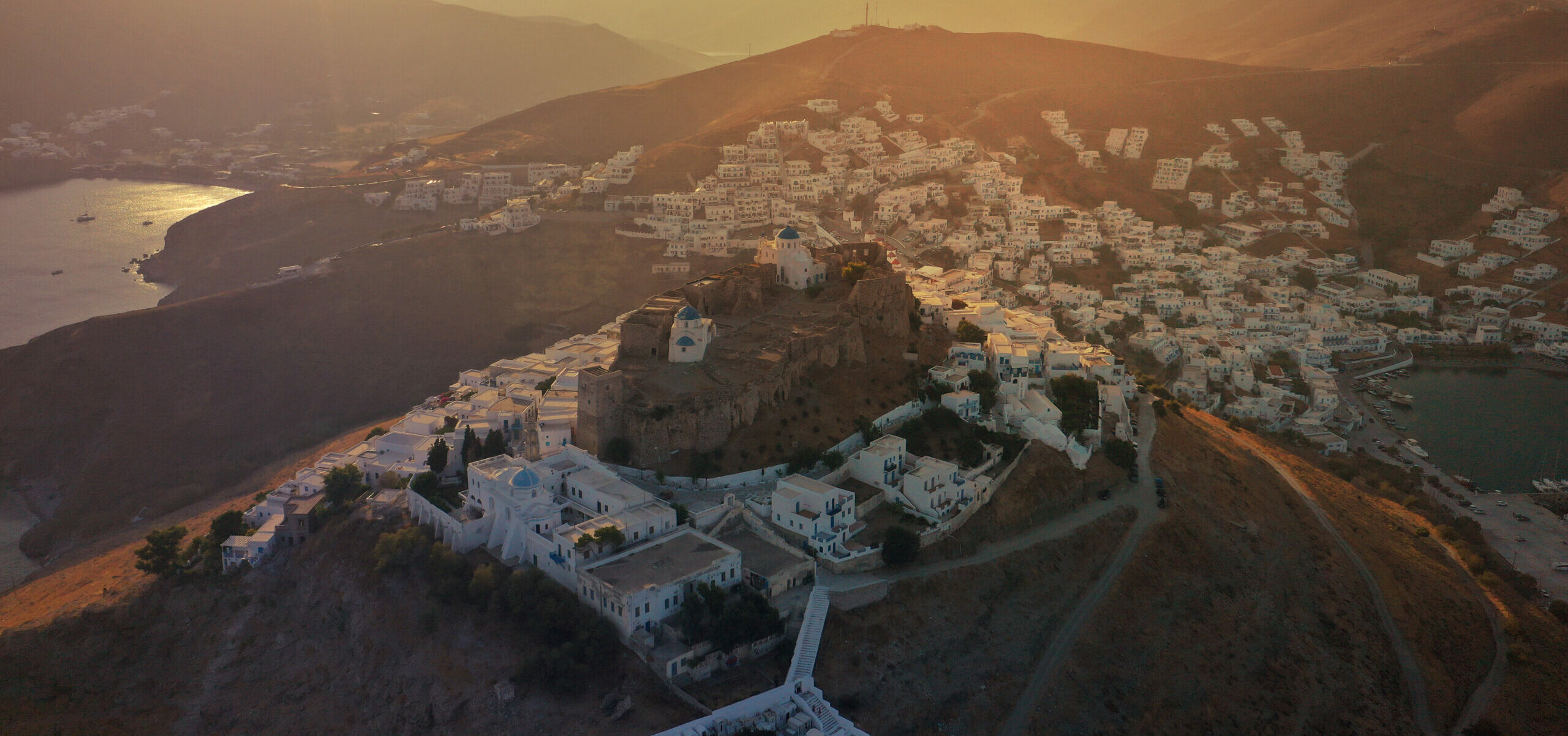 What is the Greek island that has no snakes at all