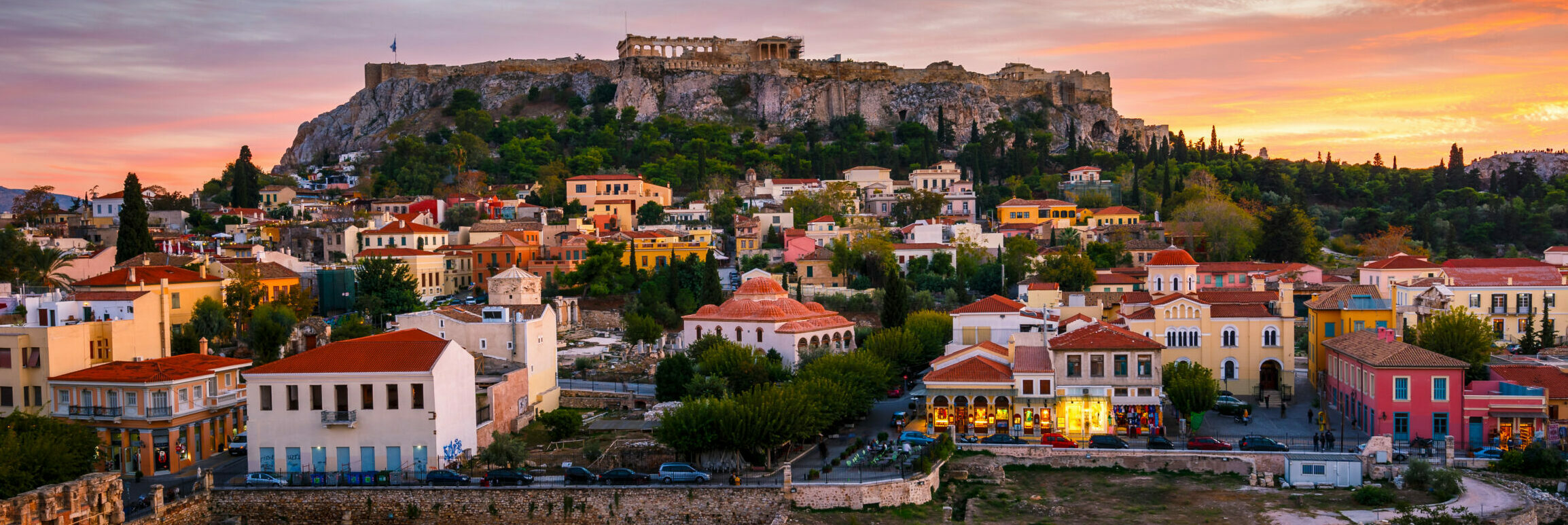 Athens: the pleasantest walkabouts in the historic center