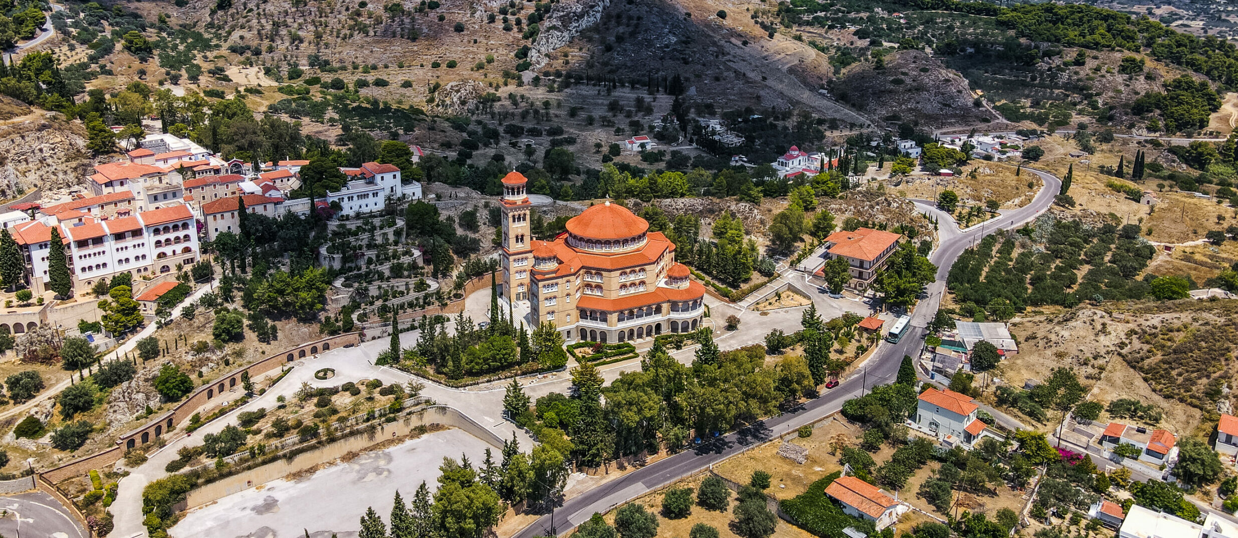 Aegina: The port and Mystras