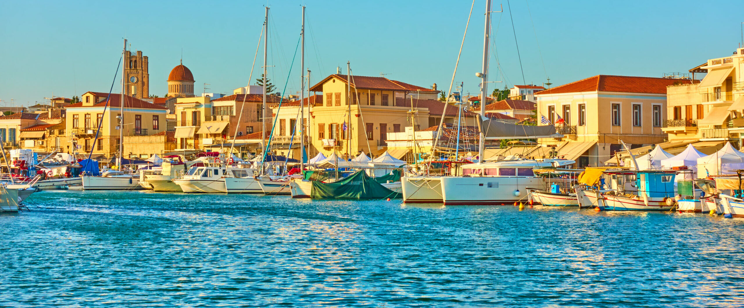 Aegina: the town and the wildlife refuge