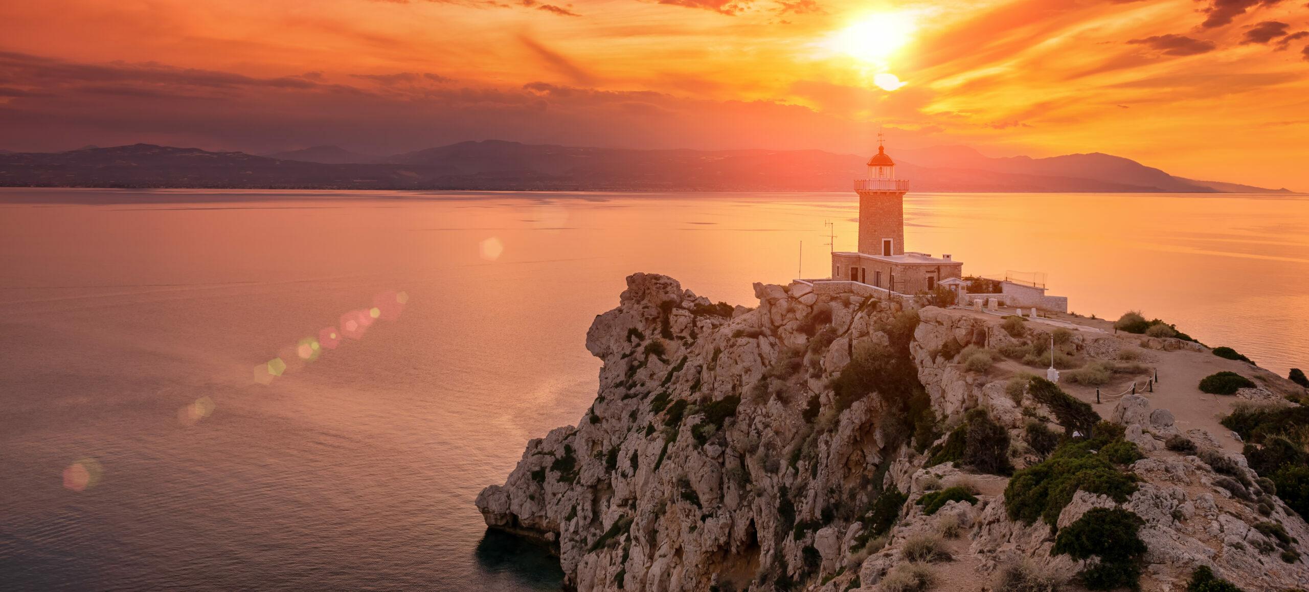 Attica: the Melagavi lighthouse area