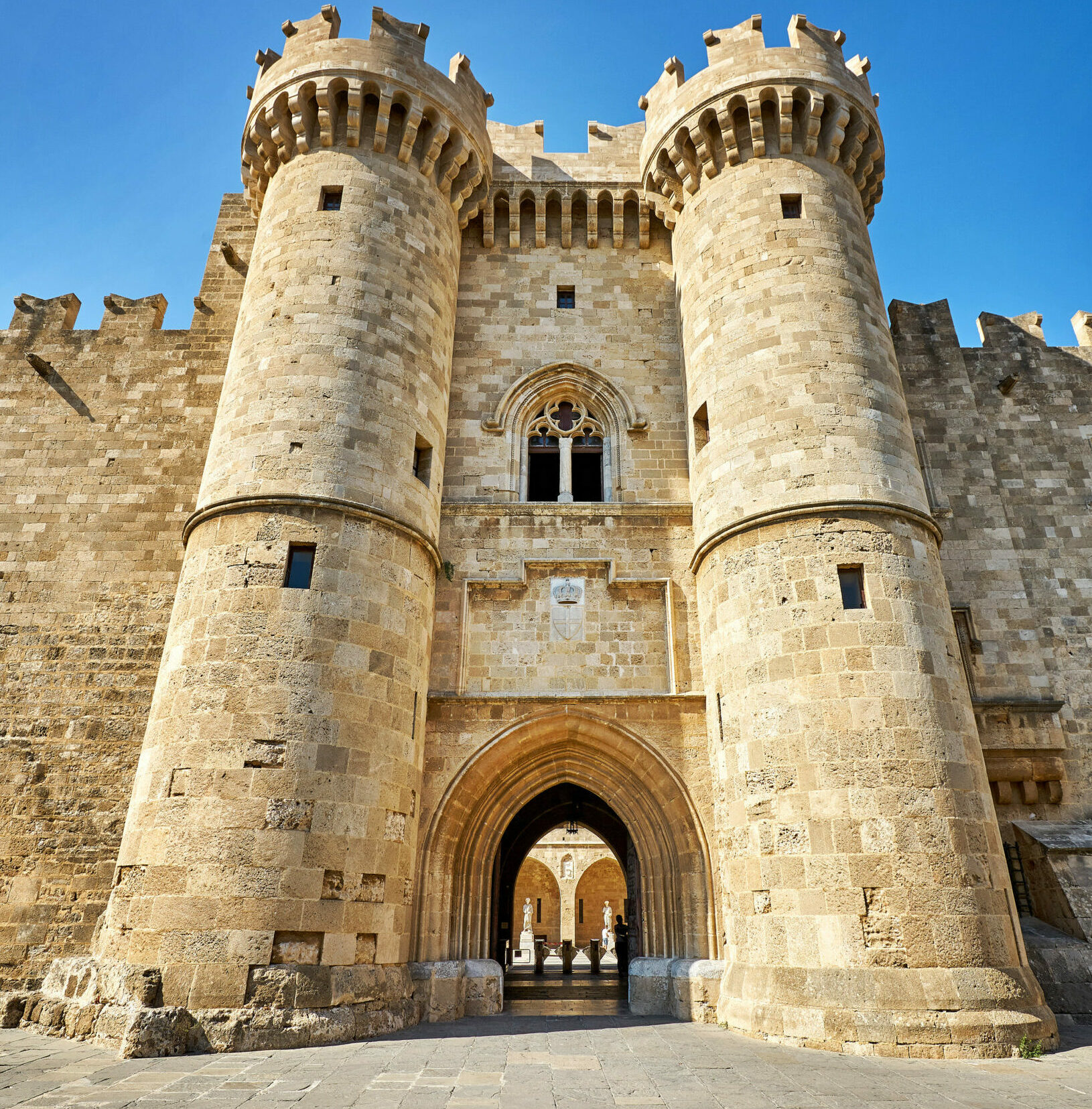 Rhodes: The majestic Castle.