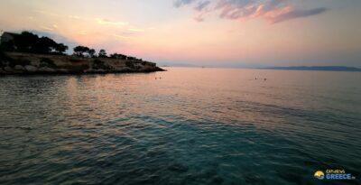 Attica:  Aegina – The beach…Choris ammoudia (without sand), a special place